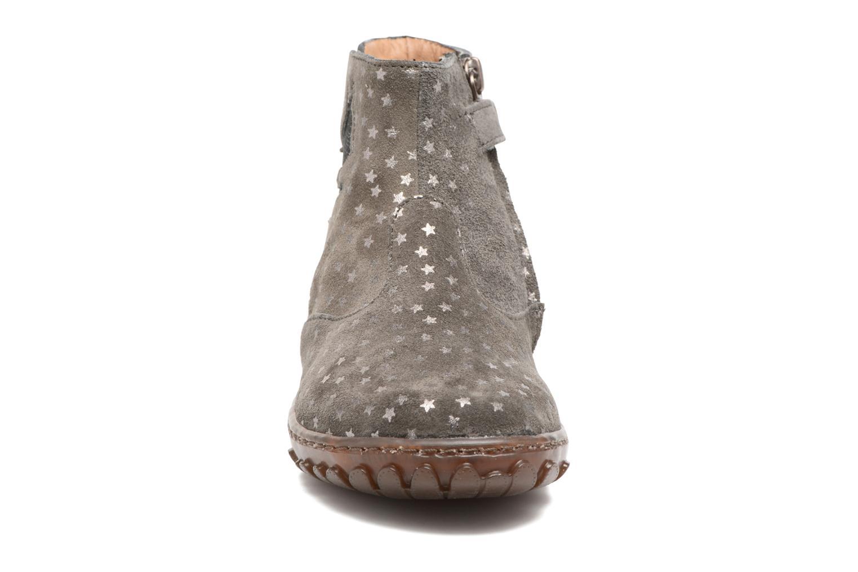 Bottines et boots Pom d Api Cute Squirrel Gris vue portées chaussures
