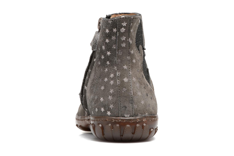 Bottines et boots Pom d Api Cute Squirrel Gris vue droite