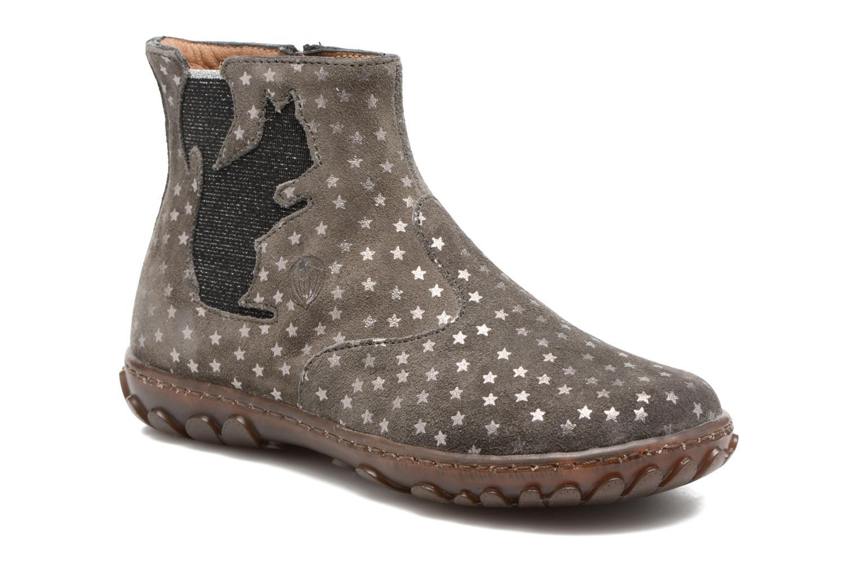 Bottines et boots Pom d Api Cute Squirrel Gris vue détail/paire