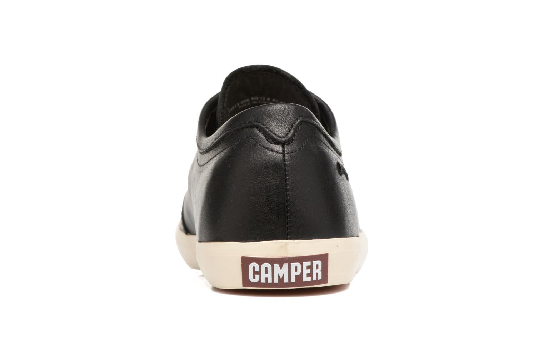 Baskets Camper Motel 18911 Noir vue droite