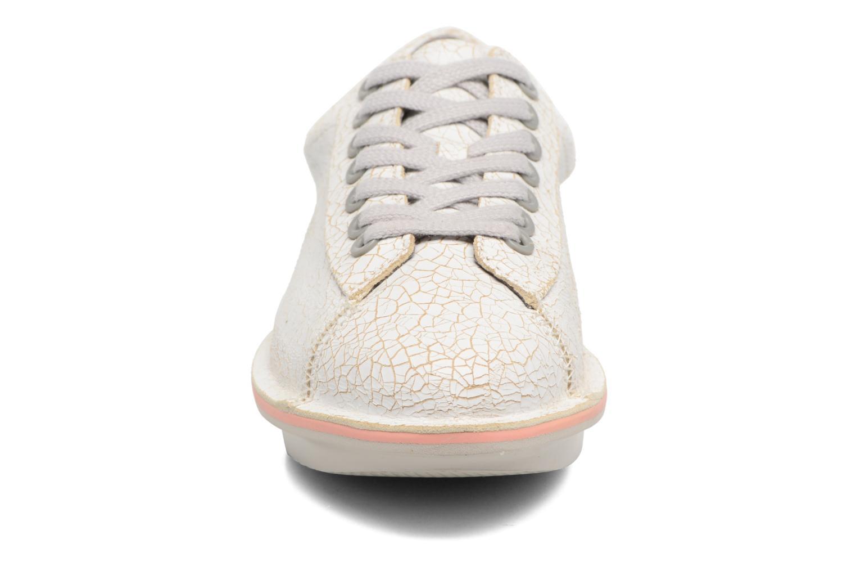 Baskets Camper Blobb 22112 Blanc vue portées chaussures