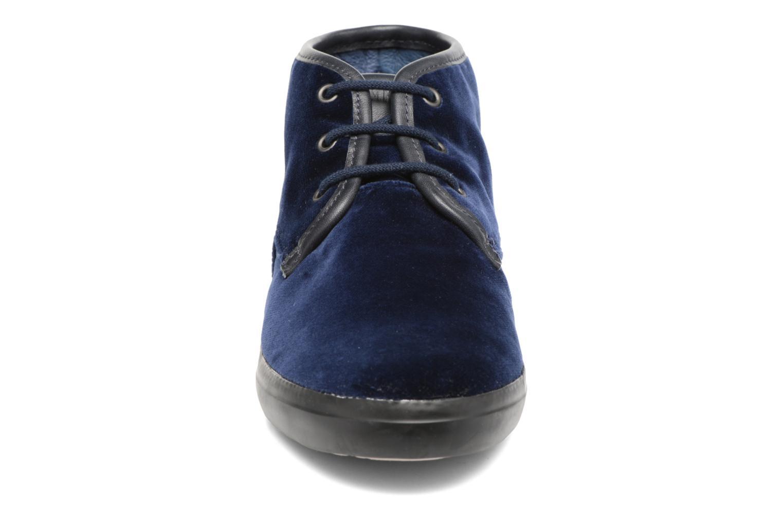 Chaussures à lacets Camper Motel K400090 Bleu vue portées chaussures