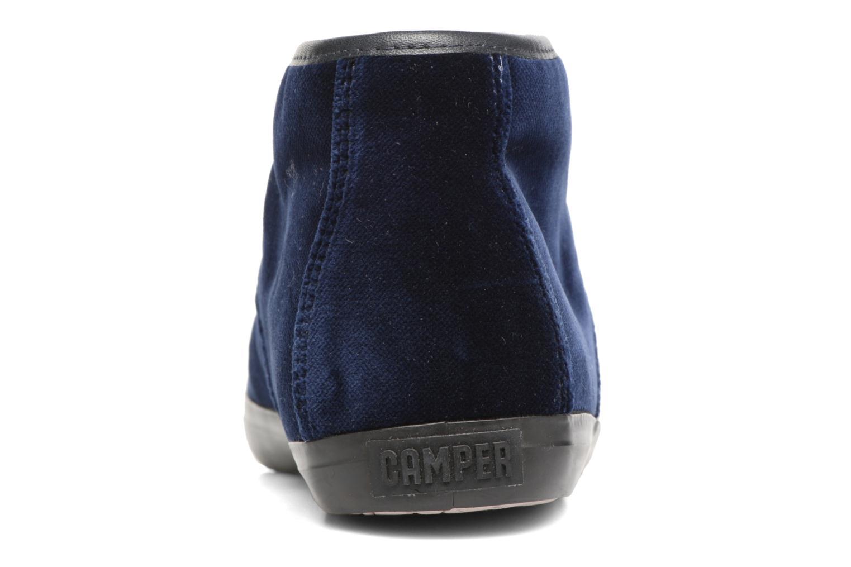 Chaussures à lacets Camper Motel K400090 Bleu vue droite