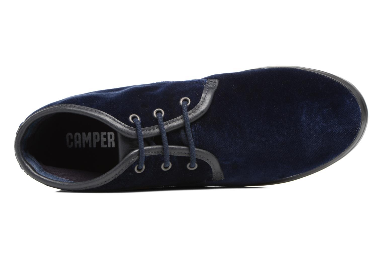 Chaussures à lacets Camper Motel K400090 Bleu vue gauche