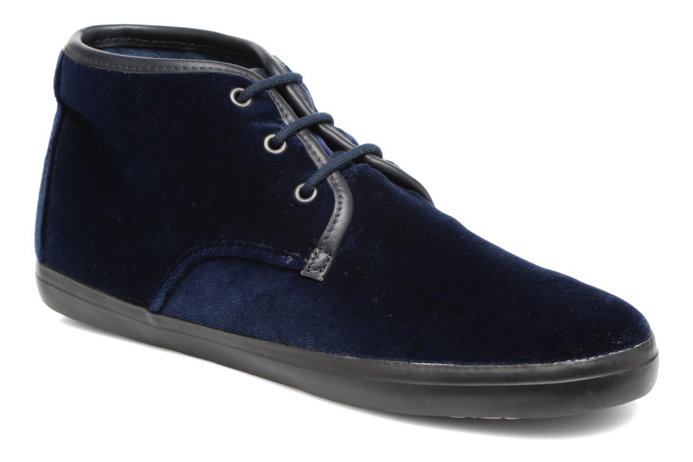 Chaussures à lacets Camper Motel K400090 Bleu vue détail/paire