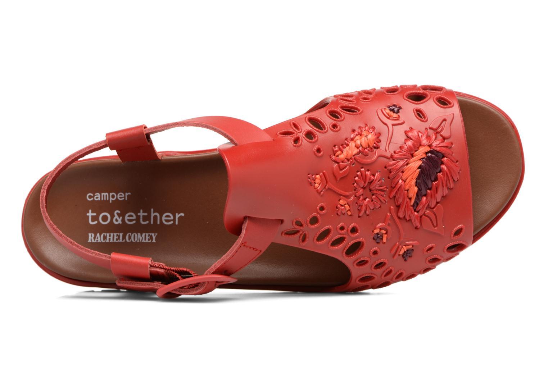 Sandales et nu-pieds Camper Together 21903 Rouge vue gauche
