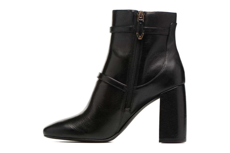 Bottines et boots What For Thomas Noir vue face