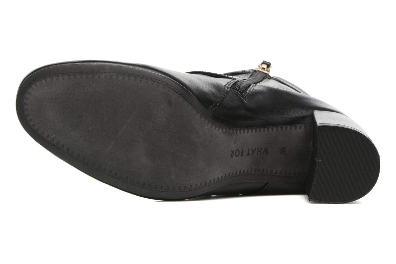 Bottines et boots What For Thomas Noir vue haut