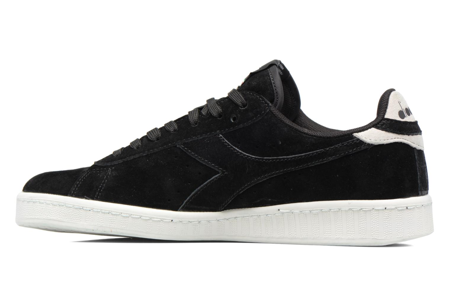 Sneakers Diadora GAME LOW S Nero immagine frontale