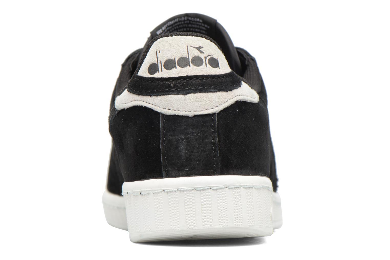 Sneakers Diadora GAME LOW S Nero immagine destra