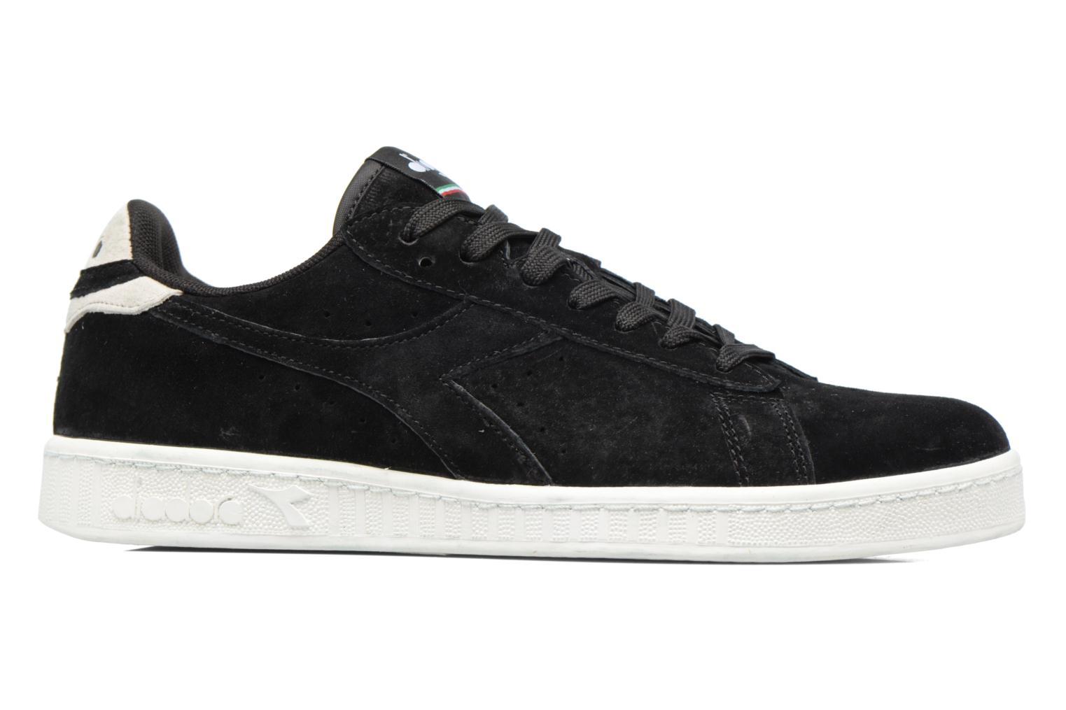 Trainers Diadora GAME LOW S Black back view