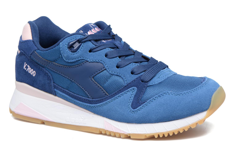 Diadora Chaussures De Sport Haut De Gamme V7000 - Bleu UohU3
