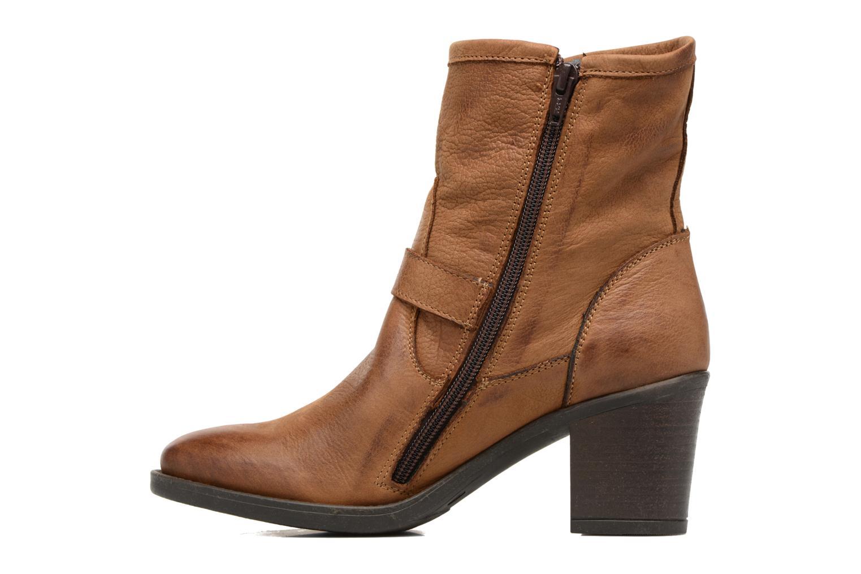 Bottines et boots Georgia Rose Malicia Marron vue face
