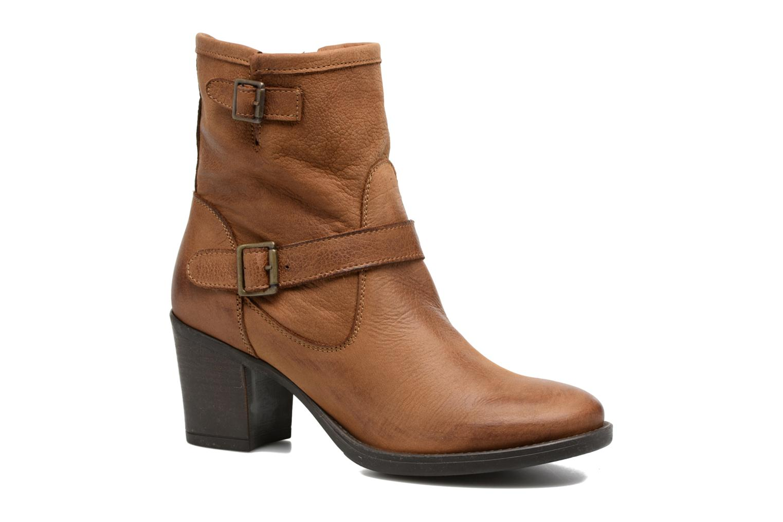Bottines et boots Georgia Rose Malicia Marron vue détail/paire