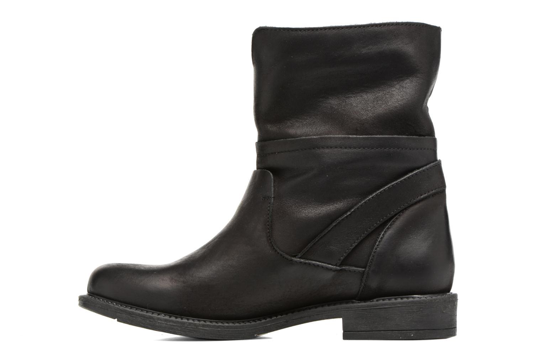 Bottines et boots Georgia Rose Mamour Noir vue face