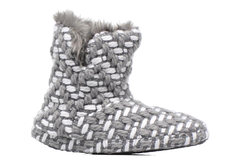 Pantoffels Esprit KNITTY BOOTIE Grijs achterkant