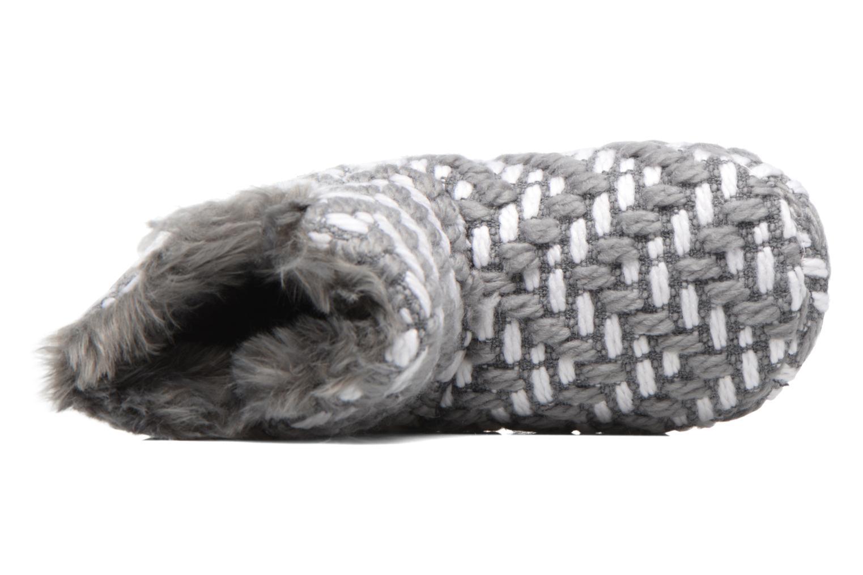 Hausschuhe Esprit KNITTY BOOTIE grau ansicht von links