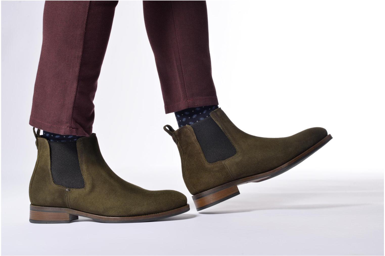 Bottines et boots Mr SARENZA Stasi Marron vue bas / vue portée sac