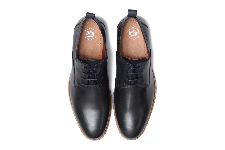 Chaussures à lacets Mr SARENZA Scano Bleu vue portées chaussures