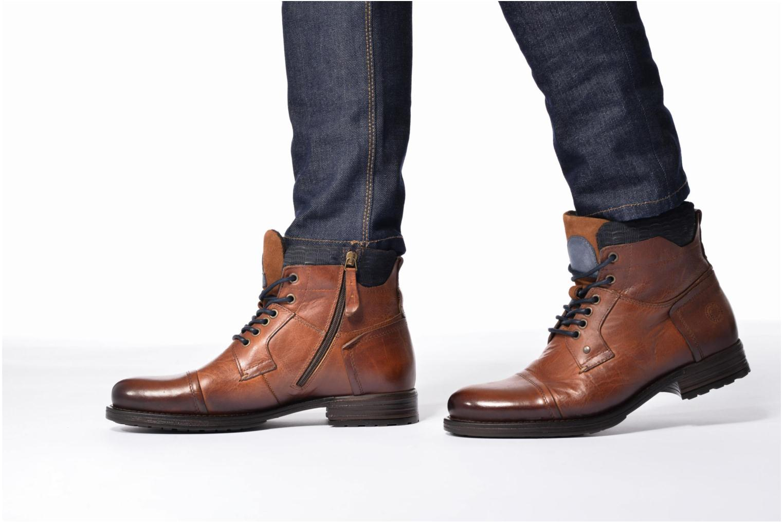 Bottines et boots Mr SARENZA Serando Marron vue bas / vue portée sac