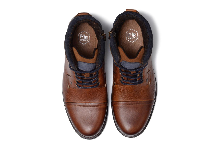 Bottines et boots Mr SARENZA Serando Marron vue portées chaussures