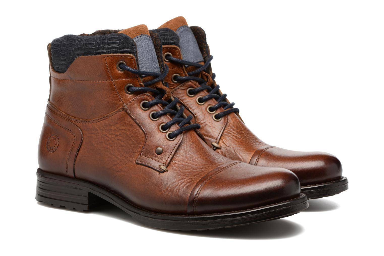 Bottines et boots Mr SARENZA Serando Marron vue derrière