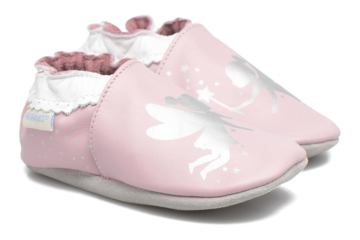 Slippers Robeez Fairy Dream Pink detailed view/ Pair view