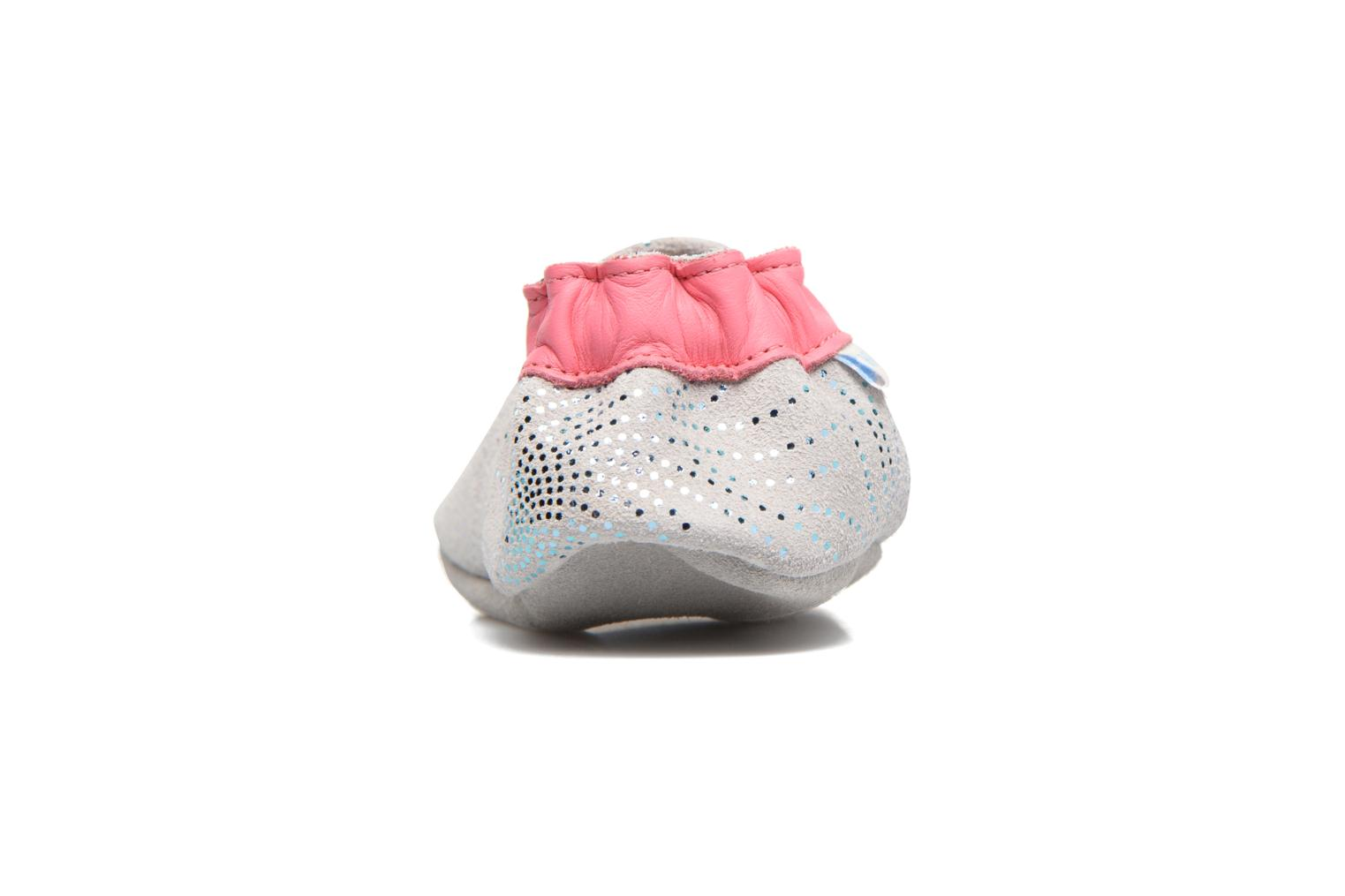 Chaussons Robeez Lovely Birds Gris vue droite