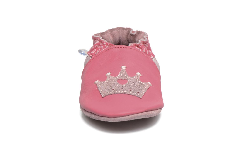 Chaussons Robeez Princess Story Rose vue portées chaussures