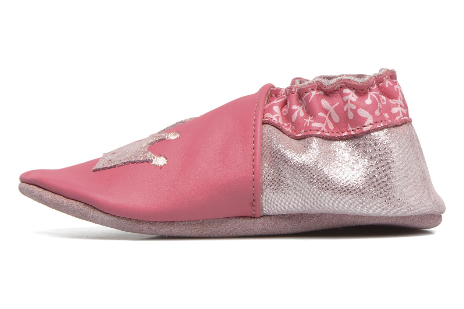 Chaussons Robeez Princess Story Rose vue face