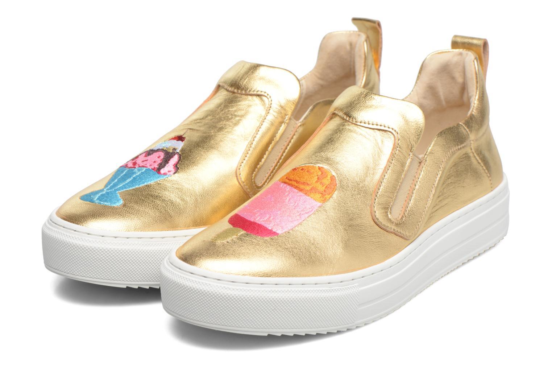 Sneakers Apologie Ice Cream Oro e bronzo immagine 3/4