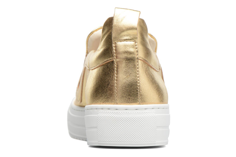 Sneakers Apologie Ice Cream Oro e bronzo immagine destra