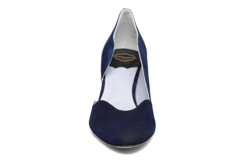 Escarpins Apologie Scarletta Bleu vue portées chaussures