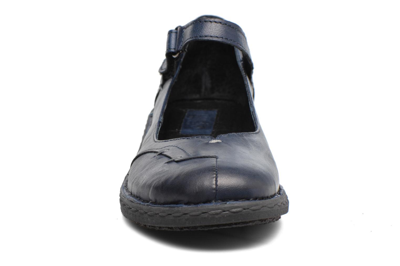 Ballerines Khrio Imul Bleu vue portées chaussures