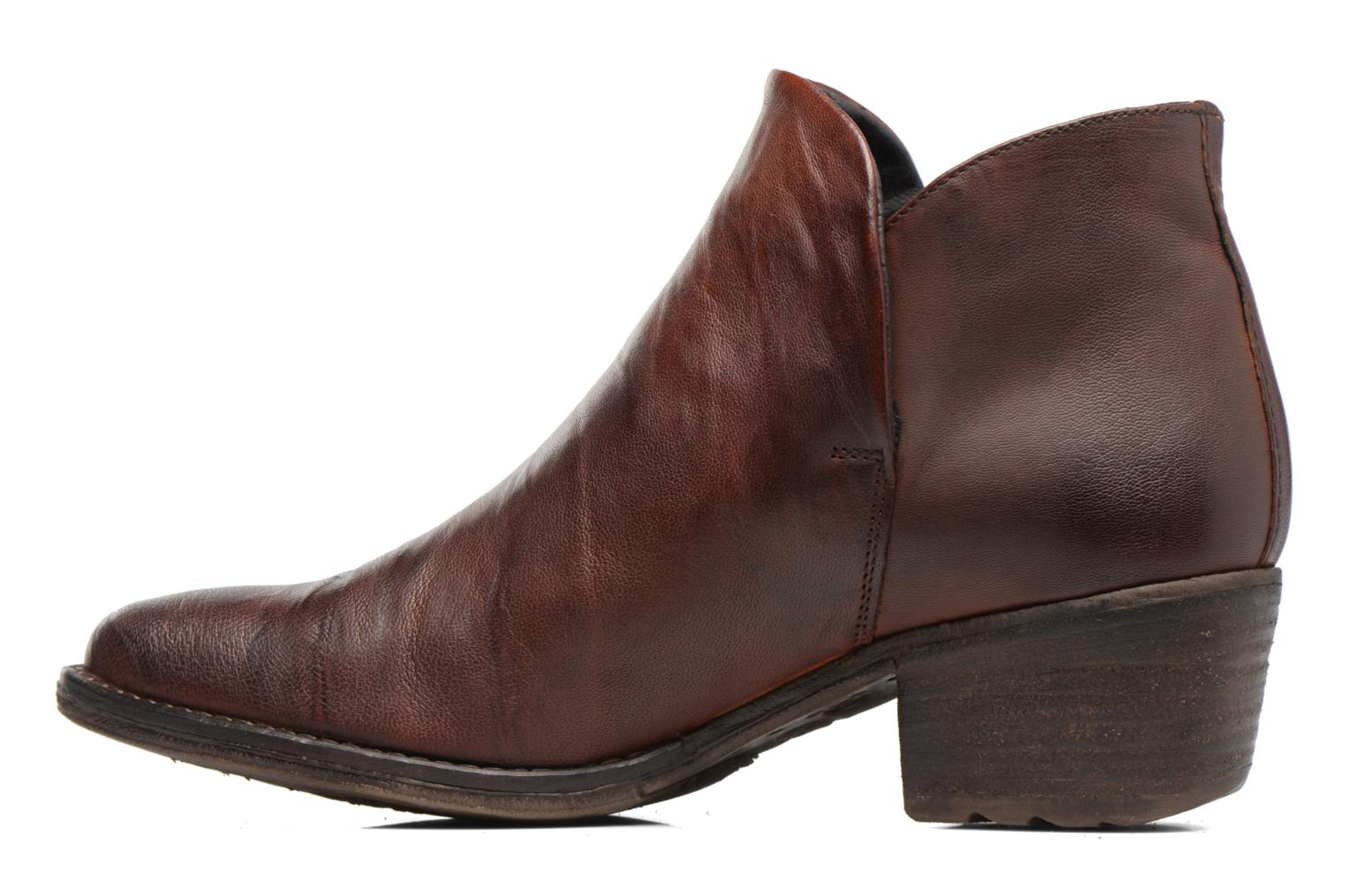 Ankle boots Khrio Silcil Brown front view