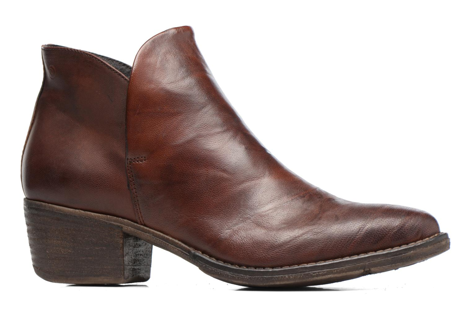 Ankle boots Khrio Silcil Brown back view