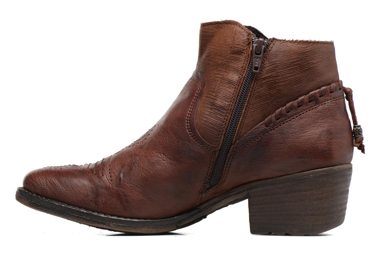 Boots en enkellaarsjes Khrio Duilum Bruin voorkant