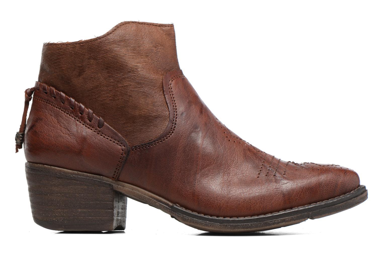 Boots en enkellaarsjes Khrio Duilum Bruin achterkant