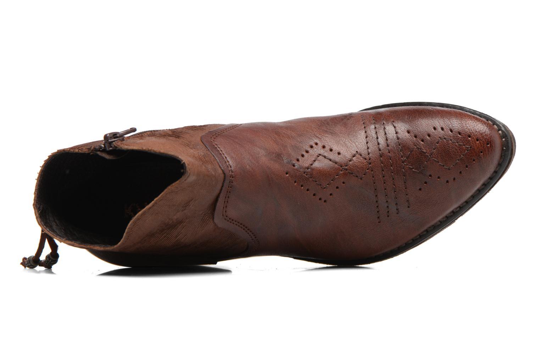 Bottines et boots Khrio Duilum Marron vue gauche