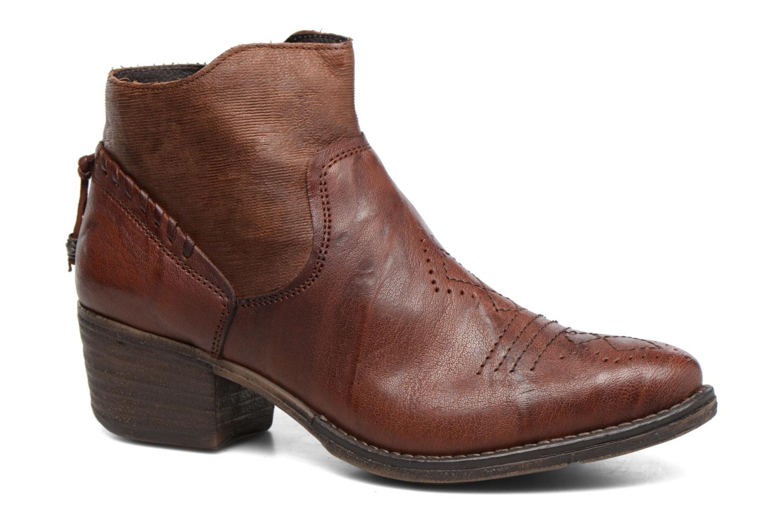 Boots en enkellaarsjes Khrio Duilum Bruin detail