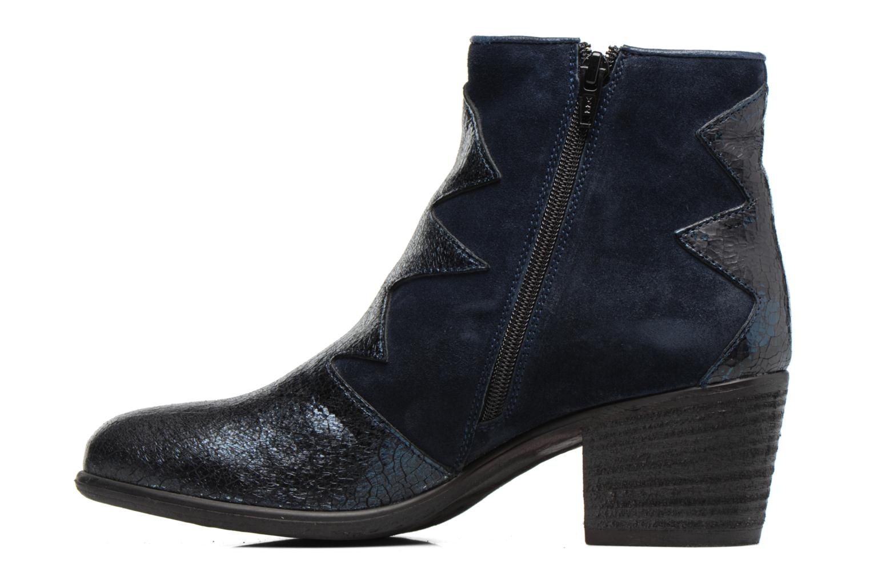 Bottines et boots Khrio Sheltarie Bleu vue face