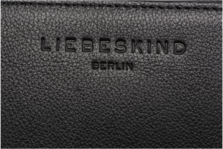 Petite Maroquinerie Liebeskind Berlin Sally 7 Portefeuille Noir vue gauche