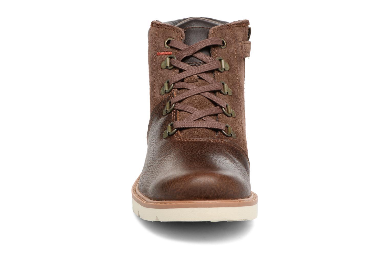 Stiefeletten & Boots Timberland TN Prescott Park Hiker braun schuhe getragen