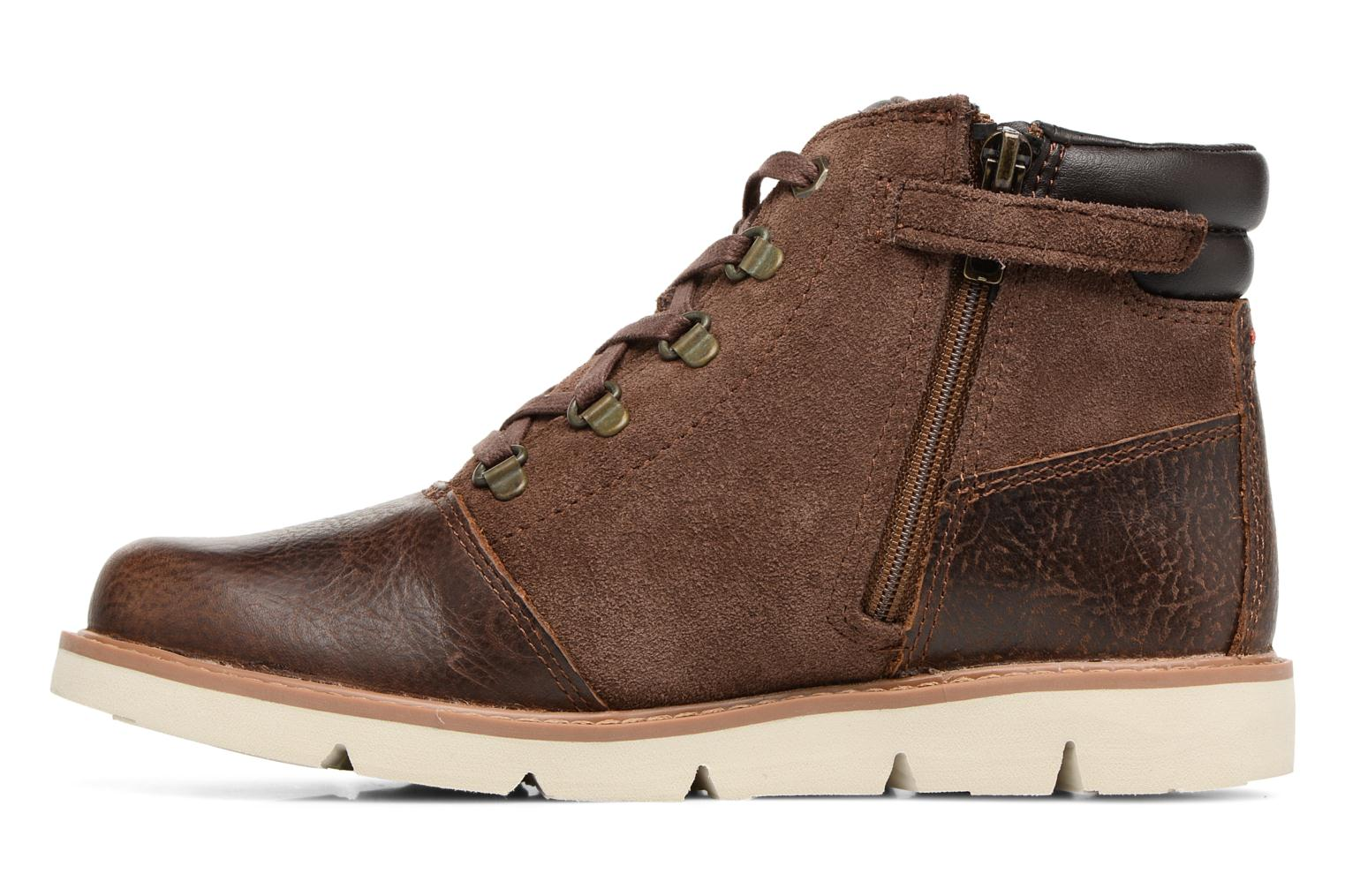 Bottines et boots Timberland TN Prescott Park Hiker Marron vue face