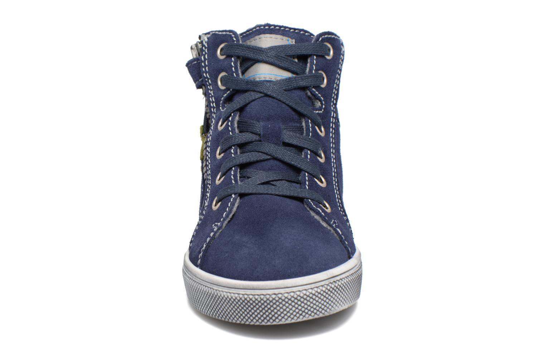 Sneakers Richter Ludvik Azzurro modello indossato