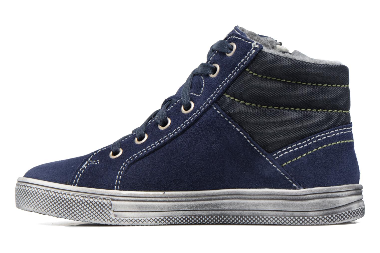 Sneaker Richter Ludvik blau ansicht von vorne