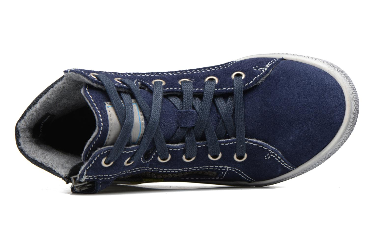 Trainers Richter Ludvik Blue view from the left