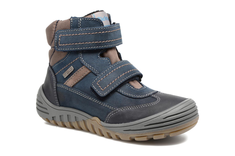 Sport shoes Richter Tomas Blue detailed view/ Pair view