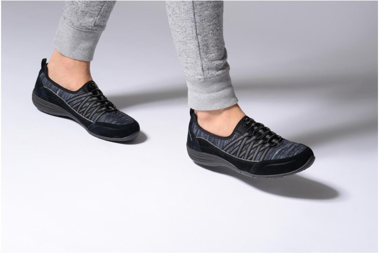 Sneaker Skechers Unity Eternal Bliss grau ansicht von unten / tasche getragen