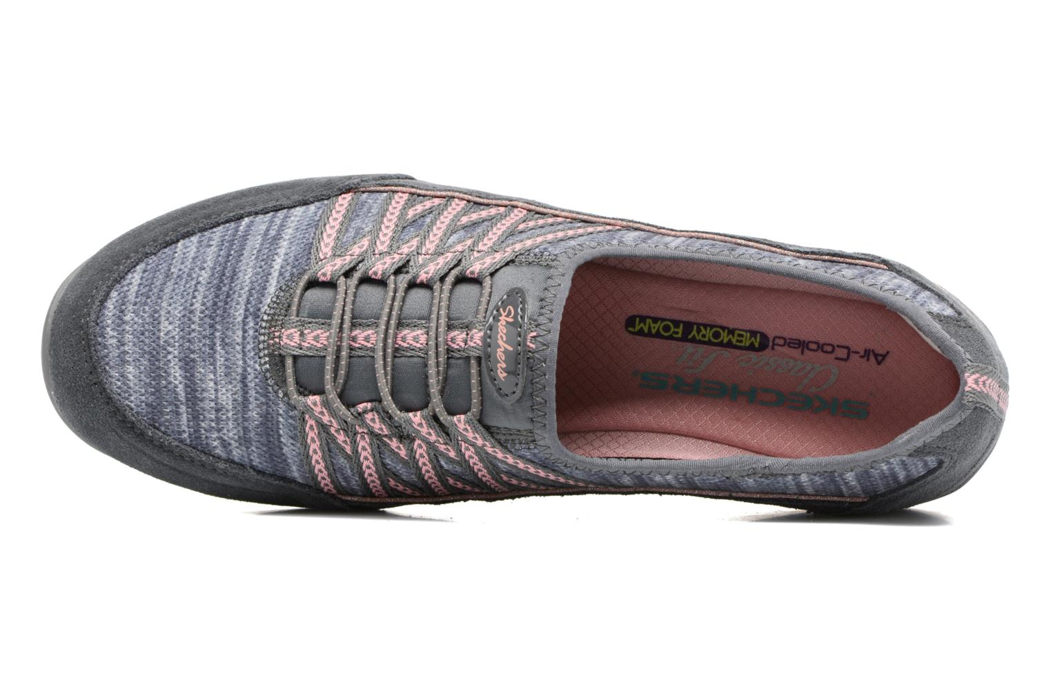 Baskets Skechers Unity Eternal Bliss Gris vue gauche